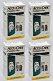 Accu Chek Compct Plus ( SIZE 204 pack Or 4 packs of 51) EXP: 4/30/2016