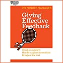 Giving Effective Feedback Audiobook by  Harvard Business Review Narrated by James Edward Thomas