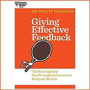 Giving Effective Feedback Audiobook