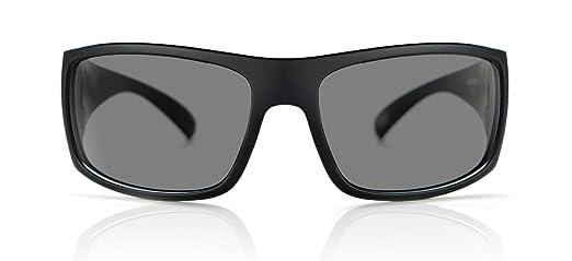 Amazon.com: madson Magnate Negro sobre negro/gris polarizado ...