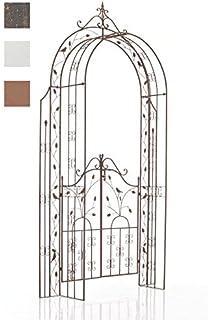 CLP Arche de Jardin avec Portillon Viola, Arcade de Jardin en Fer ...