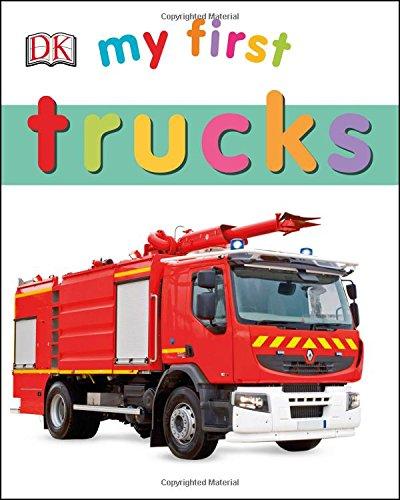 My First Trucks (My First Books)