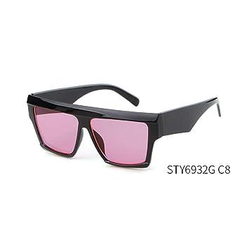 Taiyangcheng Gafas De Sol Mujer Cuadradas Steampunk Gafas De ...