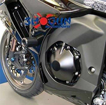 2009 - 2011 Suzuki GSXR 1000 Motorcycle Frame Sliders [Black] (Gsxr Suzuki Frame)