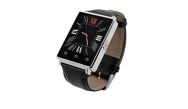 JSGJSH Pulsera Inteligente D6 Reloj teléfono Inteligente ...
