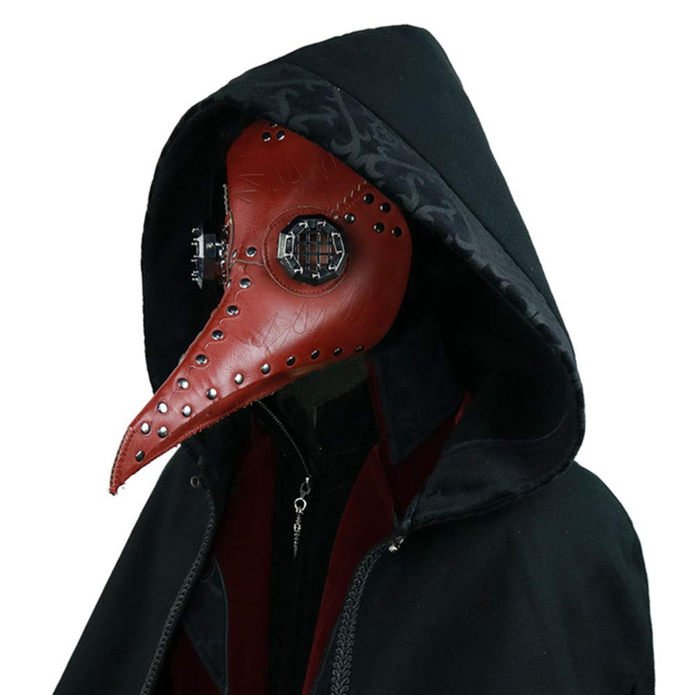 Plague Bird Doctor Nose Cosplay Mask Gothic Steampunk Retro Rock Halloween Mask