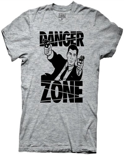 Archer Danger Zone Mens T-Shirt