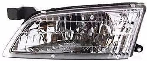 New NI2502123 Driver Side Headlight for Nissan Altima 1998-1999