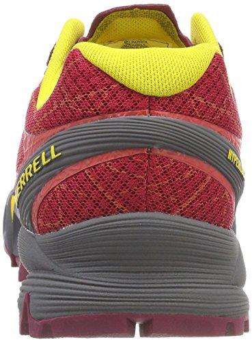 Mehrfarbig Uk Adulte multicolour 7 677338804237 Sport Merrell De Rouge Sandales Mixte Axp0w8q