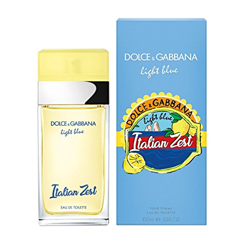 DOLCE&GABBANA Light Blue Italian Zest Pour Femme Eau de Toilette Spray, (Light Blue Italian)