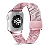 MYFLIR-Compatible-with-38mm-40mm-Watch-Band-Replacement-for-Series-1-2-3-4-Rose-Gold-Pink