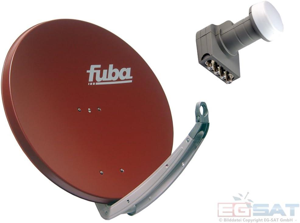 Fuba HD – Antena parabólica y para 4 participantes DAA 850 R ...
