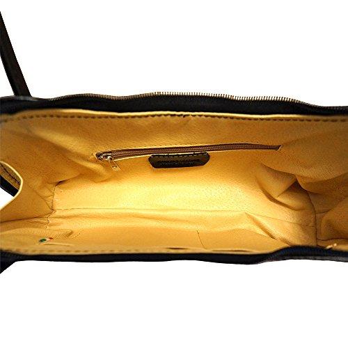 double main Noir épaule à porté 6886 Sac avec lanière XCpaUxU