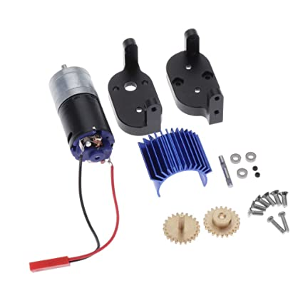 1Set Metal Transfer Gear Box Kit with Motor for WPL C14 C34 4WD RC Cars