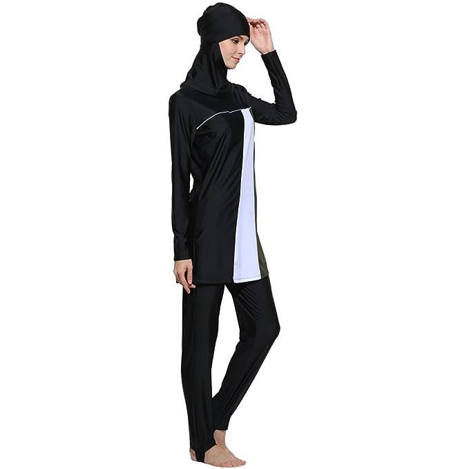 Amazon.com: CakeLY Traje de baño musulmán de moda islámica ...