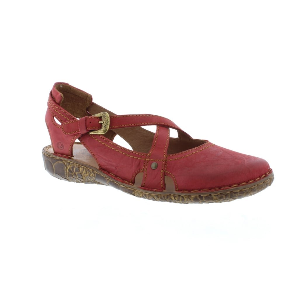 Josef Seibel Rosalie 13 - Hibiscus (Red) Womens Shoes 8.5 US