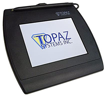 """Topaz Siggem 5 7"""" Color Dual Serial/HID USB BackLit Electronic Signature  Pad with Software"""