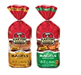 canyon bakery - Canyon Bakehouse Gluten Free Bagel Variety Pack (Plain Bagel and EverythingBagel)