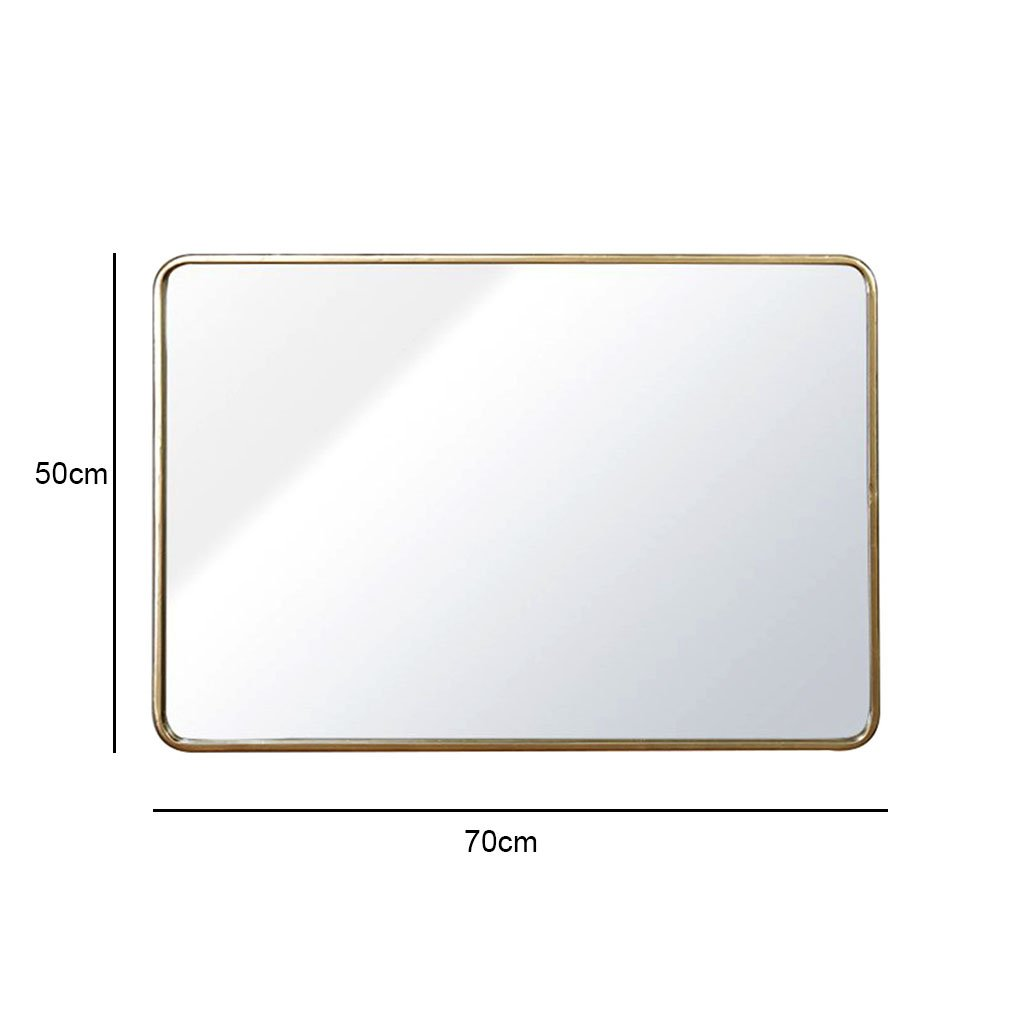 Amazon com: Wall mirror, wall mounted mirror rounded