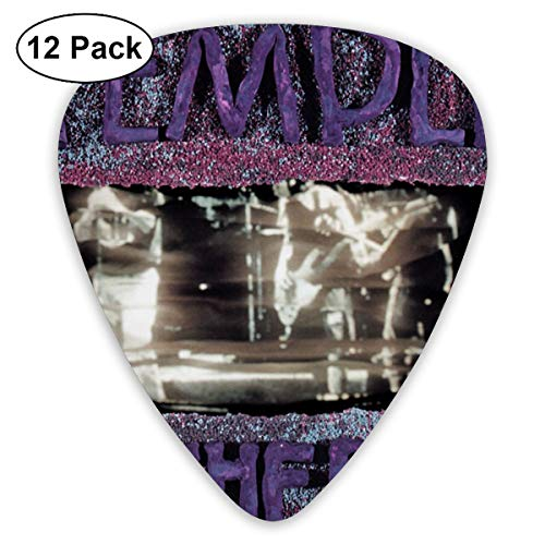 ElijahO Temple of The Dog Celluloid Guitar Picks Plectrums (12 Pack) for Electric Guitar, Acoustic Guitar, Mandolin, and Guitar Bass (Say Hello To Heaven Temple Of The Dog)