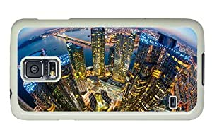 Hipster indestructible Samsung Galaxy S5 Cases south korea busan PC White for Samsung S5 by runtopwell