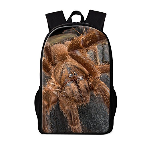 Dispalang Cute Insect Printing School Backpack Spider Bookbag Children