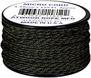 Woodland Camo MC04 1.18mm x 125' Micro Cord Paracord Made in the