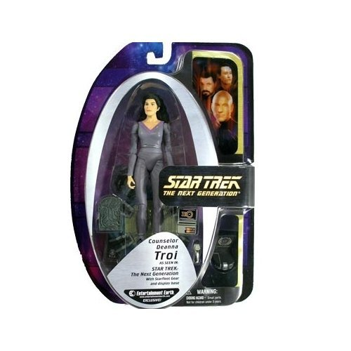 Figure Troi Deanna Exclusive EE TNG Trek Star by Action
