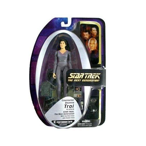 Star Trek  TNG EE Exclusive Deanna Troi Action Figure by Art Asylum