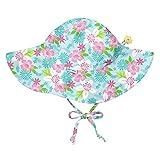 i play. Baby Girls Brim Sun Protection Hat, Light