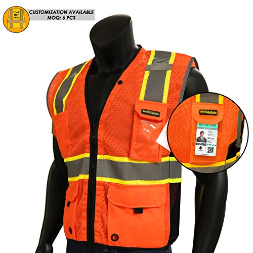 KwikSafety CLEARANCE Reflectivity Compliant Breathable