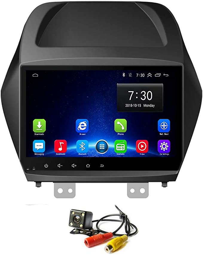 in Dash Car Radio Stereo 9 Inch Android 8.1 Navigator for Hyundai H1 2010-2014,with Bluetooth USB WiFi Support SWC RAM 1G+ROM 16G