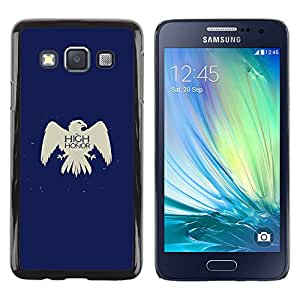 YiPhone /// Prima de resorte delgada de la cubierta del caso de Shell Armor - Tan alto como Honor Arryn - Samsung Galaxy A3
