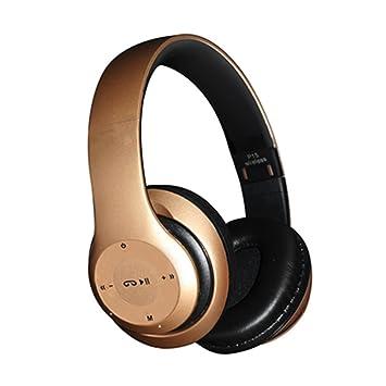 Bluetooth Auriculares , DINOWIN 4 in 1 Plegable Auriculares Inalámbricos con Micrófono / FM / TF