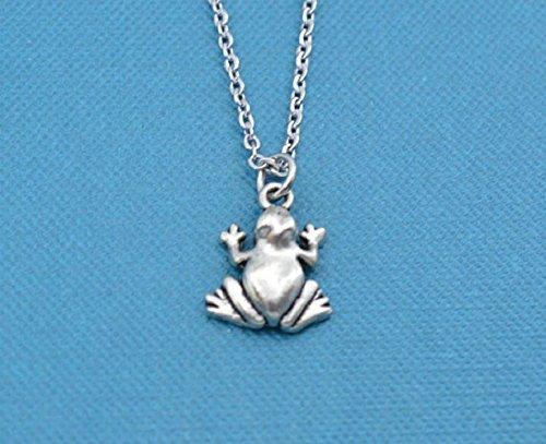Frog Pewter Pendant Charm