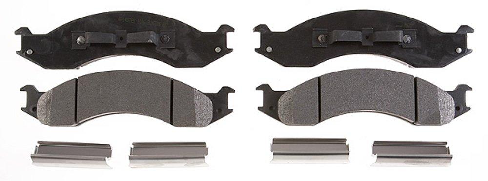 Raybestos PGD557M Professional Grade Semi-Metallic Disc Brake Pad Set