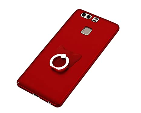 coque huawei p9 fille rouge