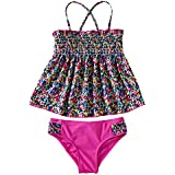 JIEYA Girls' Boho Two Piece Swimwear Set