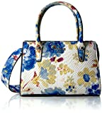 Image of GUESS Loree Mini Satchel-Blue Floral