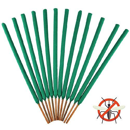 Lovhome Mosquito Repellent Stick, Citronella & Lemongrass Incense Sticks, 12 Jumbo Sticks Per Box