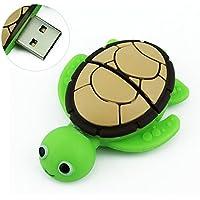 CHUYI Animal Series Sea Turtle Shape 64GB USB 2.0 Flash Drive Novelty Pen Drive Data Storage Thumb Drive U Disk Jump Drive Pendrive Gift