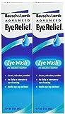 Bausch & Lomb Advanced Eye Relief Eye Wash-4 oz, 2 pack