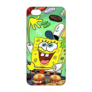 Fortune Lovely SpongeBob 3D Phone Case for iPhone 5s