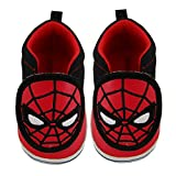 Marvel Baby Boys Avengers Spiderman Character Low Top Denim Sneakers, 3-12 Months