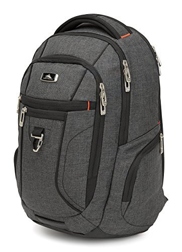 High Sierra Endeavor Business Essential Backpack - 15-inch Laptop Backpack for Men or Women - Sleek and Stylish Unisex Campus Backpack - Ideal Business Backpack for Professionals