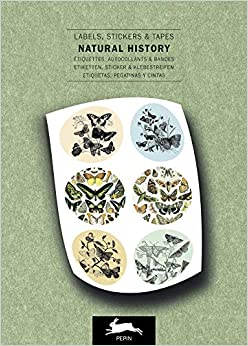 Natural History: Label & Sticker Book: Labels, Stickers & Tapes por Pepin Van Roojen epub