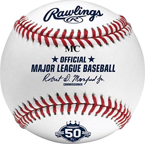 Rawlings Official Kansas City Royals 50th Anniversary MLB Game Baseball Boxed