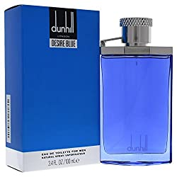 Desire Blue By Alfred Dunhill For Men, Eau De Toilette Spray (3.4 Ounces)