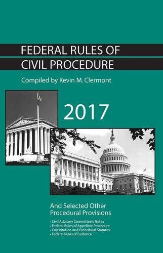 Federal Rules of Civil Procedure and Selected Other Procedural Provisions (Selected Statutes) PDF