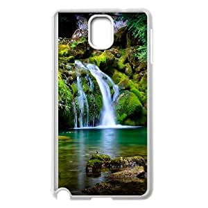 Waterfall Samsung Galaxy Note 3 Cell Phone Case White MPH